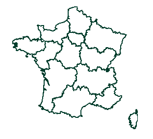 Carte de france Aforce
